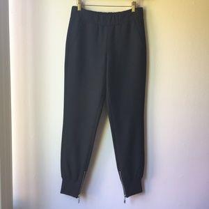 Aritzia Babaton Finch Trouser Jogger Pant in Black